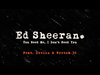 Ed Sheeran - You Need Me, I Don't Need You (feat. Wretch 32 & Devlin) Out Now)