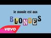 Alizée - Blonde (Audio + paroles)