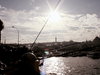 Istanbul City - Sunset on Galata Bridge