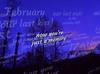 Joe Gauthreaux - February (Our Last Kiss) (feat. Abigail)