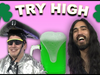 Snoop Dogg - Two Dudes Play Green Beer Pong With Their Heads on a Special St. Patrick's Day Edition of TRY HIGH
