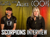 Alice Cooper - SCORPIONS talk touring, Tribute to Lemmy of Motorhead, new music and more!