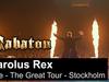 SABATON - Carolus Rex (Live - The Great Tour - Stockholm)