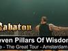 SABATON - Seven Pillars Of Wisdom (Live - The Great Tour - Amsterdam)