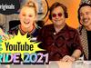 Elton John - David and Elton Talk To JoJo Siwa About Relationships   YouTube Pride 2021